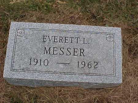 MESSER, EVERETT L. - Henry County, Iowa   EVERETT L. MESSER