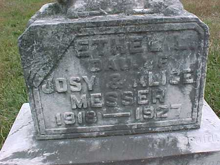 MESSER, ETHEL L. - Henry County, Iowa | ETHEL L. MESSER