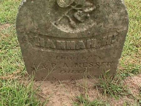 MESSER, HANNAH H - Henry County, Iowa | HANNAH H MESSER