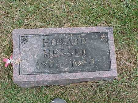 MESSER, HOWARD - Henry County, Iowa | HOWARD MESSER