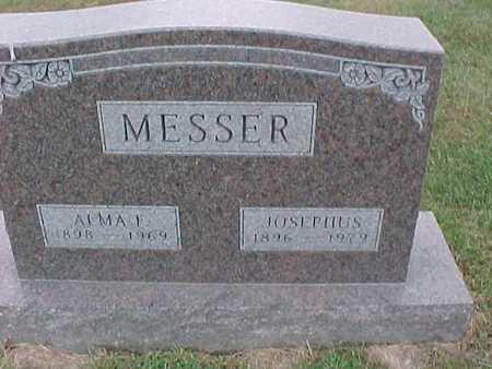 MESSER, ALMA - Henry County, Iowa | ALMA MESSER