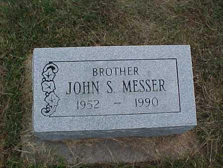 MESSER, JOHN S. - Henry County, Iowa | JOHN S. MESSER