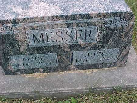 MESSER, ALICE - Henry County, Iowa | ALICE MESSER