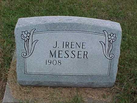 MESSER, J. IRENE - Henry County, Iowa | J. IRENE MESSER