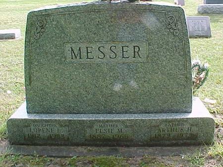 MESSER, ARTHUR H - Henry County, Iowa | ARTHUR H MESSER