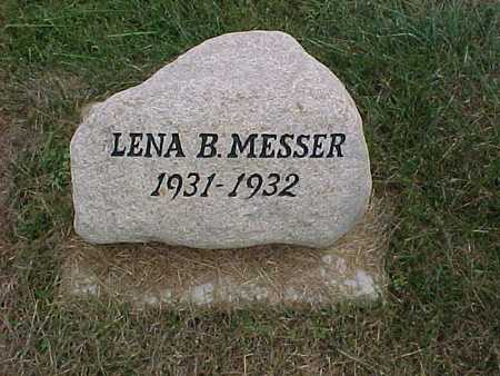 MESSER, LENA B. - Henry County, Iowa | LENA B. MESSER