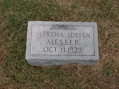 MESSER, MARTHA IDELLA - Henry County, Iowa | MARTHA IDELLA MESSER