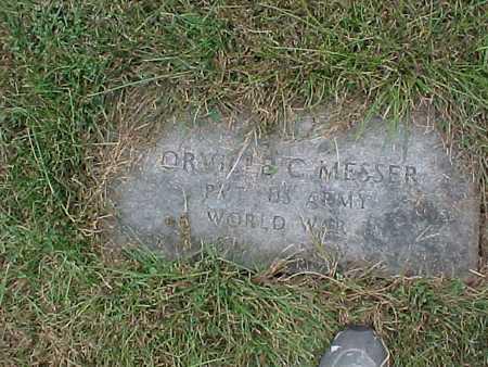 MESSER, ORVILLE C. - Henry County, Iowa | ORVILLE C. MESSER