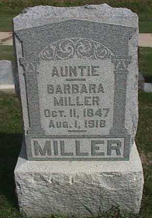 MILLER, BARBARA - Henry County, Iowa | BARBARA MILLER