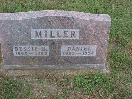 MILLER, BESSIE - Henry County, Iowa | BESSIE MILLER