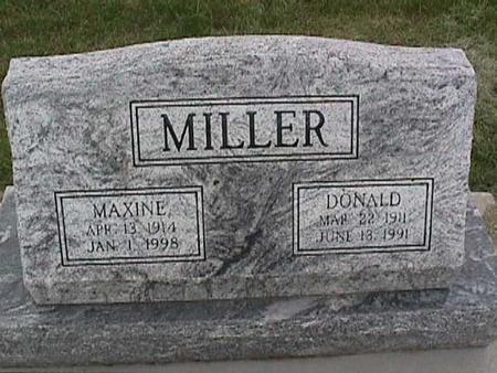 MILLER, DONALD - Henry County, Iowa | DONALD MILLER