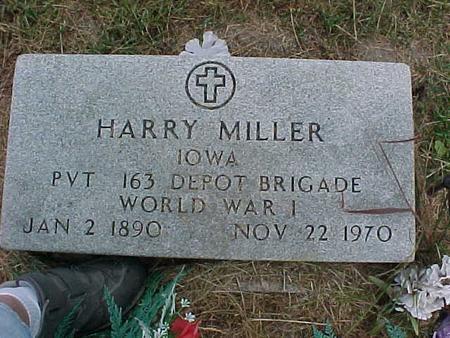 MILLER, HARRY - Henry County, Iowa | HARRY MILLER