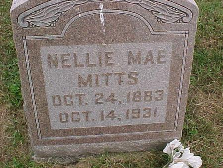 MITTS, NELLIE MAE - Henry County, Iowa | NELLIE MAE MITTS