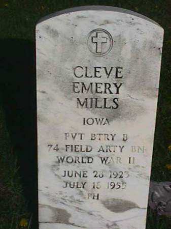 MILLS, CLEVE EMERY - Henry County, Iowa | CLEVE EMERY MILLS