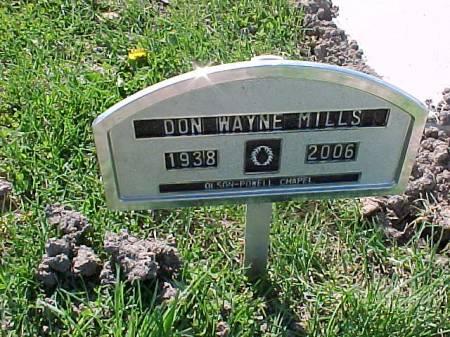 MILLS, DON WAYNE - Henry County, Iowa | DON WAYNE MILLS