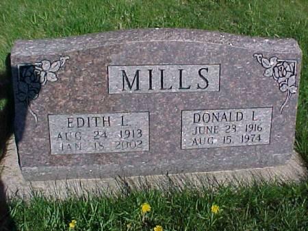 MILLS, DONALD L. - Henry County, Iowa | DONALD L. MILLS