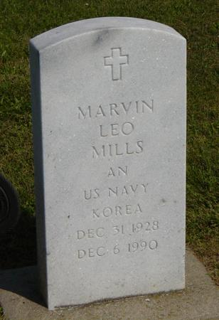 MILLS, MARVIN ( LEO ) - Henry County, Iowa | MARVIN ( LEO ) MILLS
