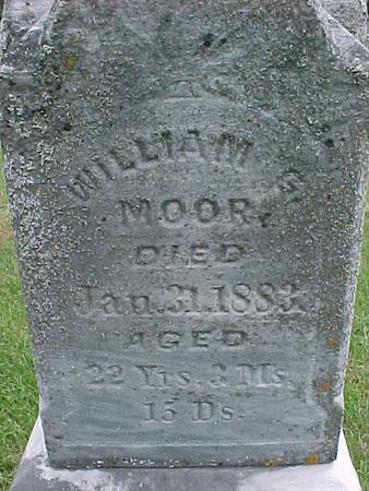 MOOR, WILLIAM G - Henry County, Iowa | WILLIAM G MOOR