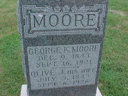MOORE, OLIVE - Henry County, Iowa | OLIVE MOORE