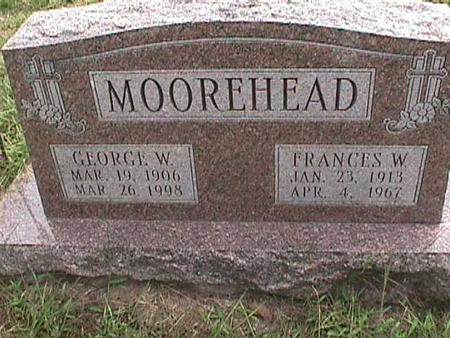 MOOREHEAD, GEORGE W - Henry County, Iowa | GEORGE W MOOREHEAD