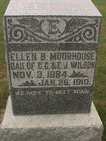 WILSON MOREHOUSE, ELLEN - Henry County, Iowa | ELLEN WILSON MOREHOUSE