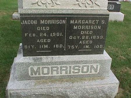 MORRISON, MARGARET S - Henry County, Iowa | MARGARET S MORRISON