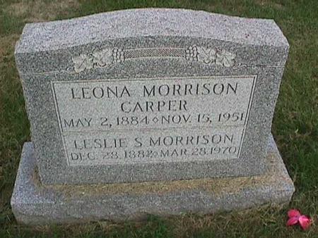 MORRISON, LESLIE S. - Henry County, Iowa | LESLIE S. MORRISON