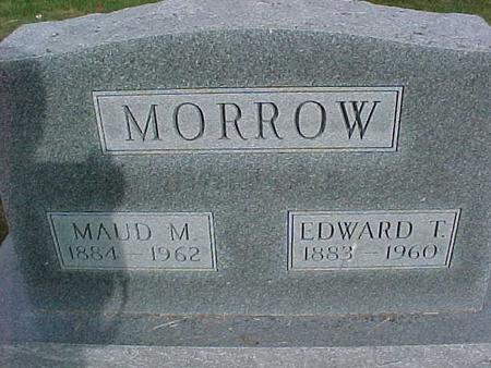 MORROW, MAUD M - Henry County, Iowa | MAUD M MORROW