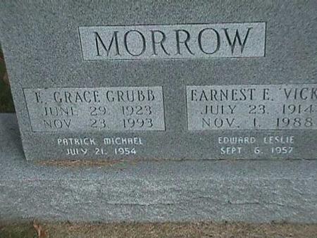 MORROW, EARNEST E - Henry County, Iowa | EARNEST E MORROW