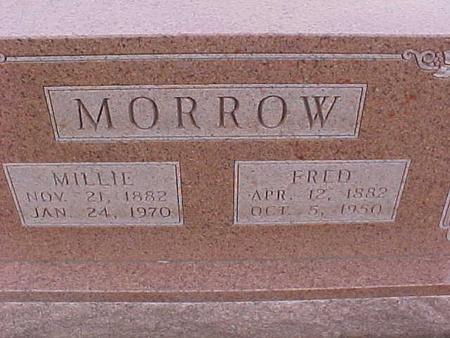 MORROW, MILLIE - Henry County, Iowa | MILLIE MORROW