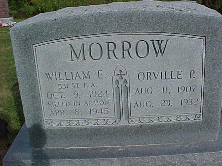 MORROW, ORVILLE P - Henry County, Iowa | ORVILLE P MORROW