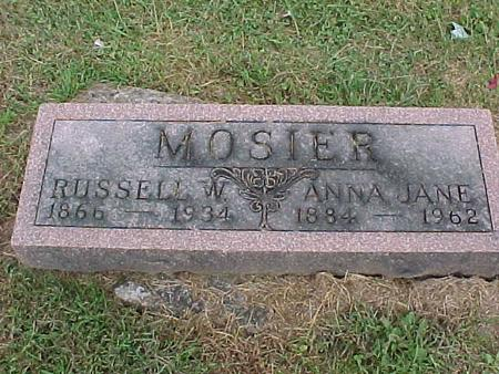MOSIER, RUSSELL - Henry County, Iowa | RUSSELL MOSIER