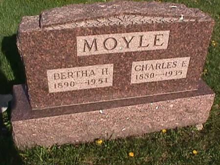 MOYLE, BERTHA H. - Henry County, Iowa | BERTHA H. MOYLE