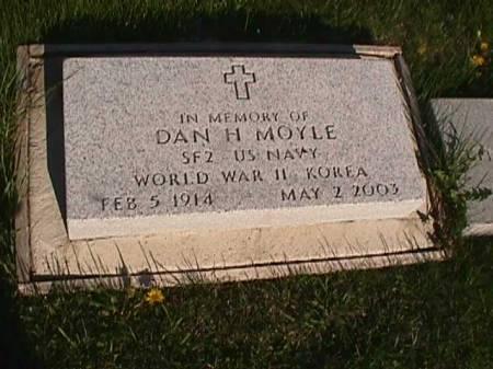 MOYLE, DAN H. - Henry County, Iowa | DAN H. MOYLE