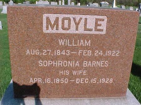 MOYLE, SOPHRONIA - Henry County, Iowa   SOPHRONIA MOYLE