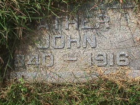NAFFZIGER, JOHN - Henry County, Iowa   JOHN NAFFZIGER