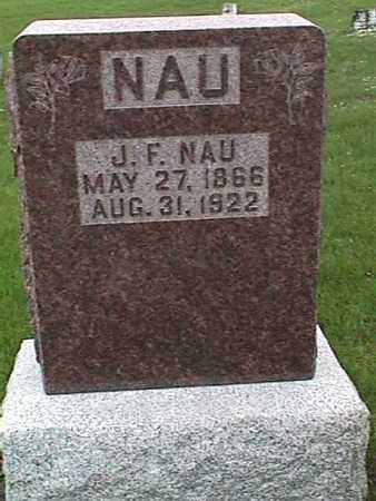 NAU, J. F. - Henry County, Iowa   J. F. NAU