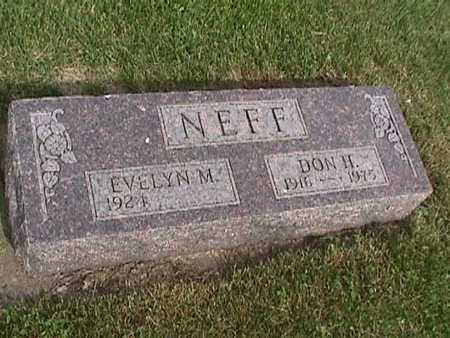 NEFF, DON - Henry County, Iowa   DON NEFF