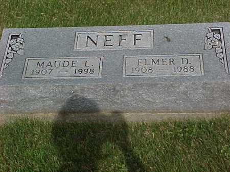 NEFF, ELMER - Henry County, Iowa | ELMER NEFF