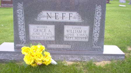 NEFF, GRACE A. - Henry County, Iowa | GRACE A. NEFF