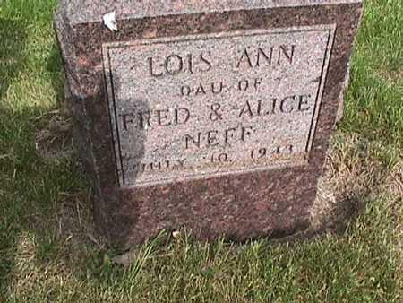 NEFF, LOIS ANN - Henry County, Iowa | LOIS ANN NEFF