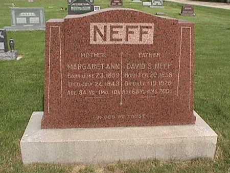NEFF, MARGARET  ANN - Henry County, Iowa | MARGARET  ANN NEFF