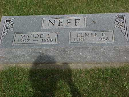 WINTERS NEFF, MAUDE - Henry County, Iowa | MAUDE WINTERS NEFF