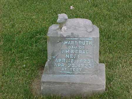 NEFF, MARY RUTH - Henry County, Iowa | MARY RUTH NEFF