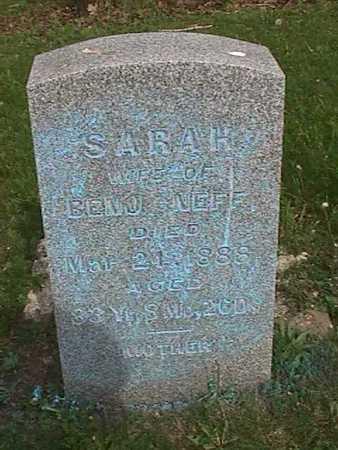 NEFF, SARAH - Henry County, Iowa | SARAH NEFF