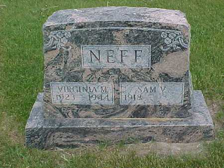 NEFF, VIRGINIA - Henry County, Iowa | VIRGINIA NEFF