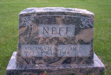 NEFF, VIRGINIA M. - Henry County, Iowa | VIRGINIA M. NEFF