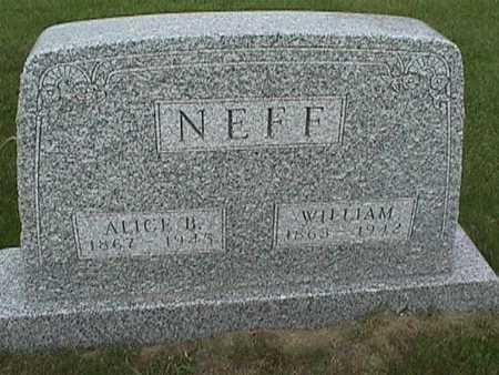 NEFF, ALICE - Henry County, Iowa | ALICE NEFF