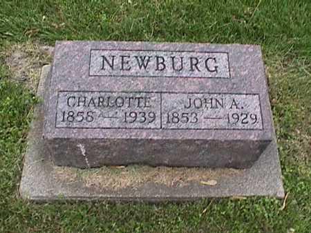 NEWBURG, CHARLOTTE - Henry County, Iowa | CHARLOTTE NEWBURG