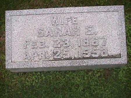 NOBLE, SARAH - Henry County, Iowa | SARAH NOBLE